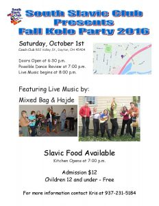 Fall Kolo Flyer